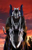 Lone Rider by ReptileCynrik by RazenHashikado