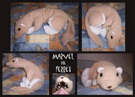 Ferret-Marvel by Renegar-Kitsune