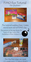 FIMO Eye Tutorial by Renegar-Kitsune