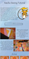 Raichu Sewing Tutorial by Renegar-Kitsune