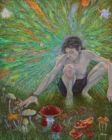 Mycelium-consciousness by brainwar23
