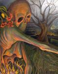 Burning Womb, Burning Earth by brainwar23