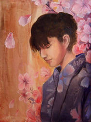 Cherry Blossom by gaux-gaux