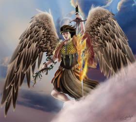 Uriel: Fire of God by gaux-gaux