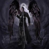 Azrael: Angel of Death by gaux-gaux