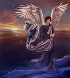 Raphael: God Has Healed by gaux-gaux