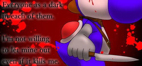 Blue's Quote  - {Contains Blood} by Cordometer