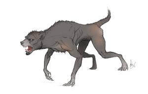 Werewolf by MagpieSkadoosh