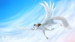 Flight by OkamiWhitewings