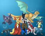 Rawazu's Team by OkamiWhitewings