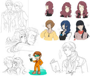 P4-10YL-doodle compilation by alexis-the-angel