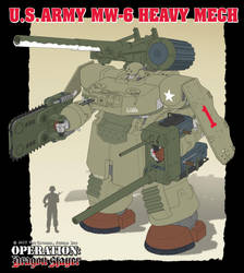 M6 Heavy Mech -WIP by Rob-Cavanna