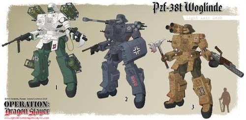 Pzf-38t Woglinde by Rob-Cavanna
