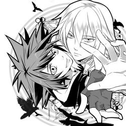 sora and riku by ineedsomecake