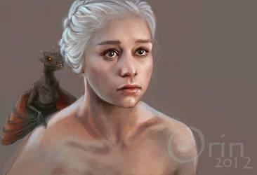 : Daenerys - WIP : by orin