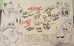 Skullgirls voice actors by baron-von-jiggly