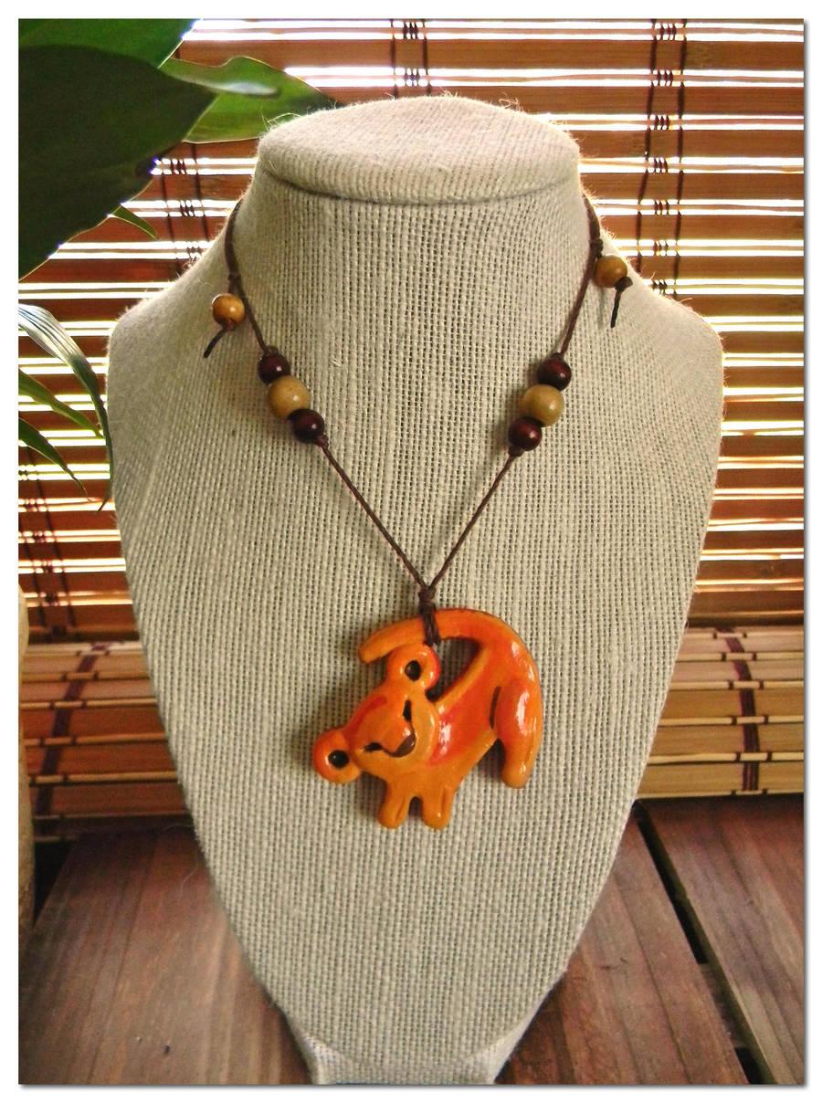 Simba Lion King Necklace by LaurelArtz