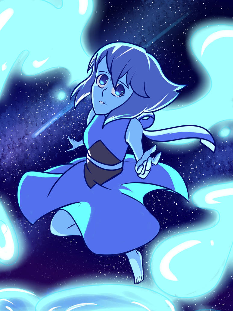 Yes, I admit it. I started watching Steven Universe. ... I love it <3 And Lapis is my favourite Gem. I love her design and her personality (God, the feels. THE FEELS!) So I decided to draw a fan...