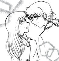 Cliff n Claire, Another sketch by shiramiu