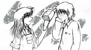 Better Without Hat by shiramiu