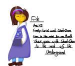 UnderXlife Frisk (re-design) by NightmareLp4Life