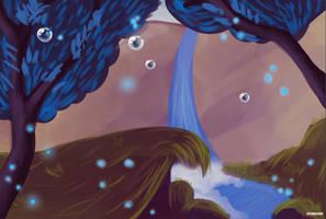 Enchanted Waterfall by DyamondArts