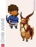 Chibi MNK.2 by VIARTStudios