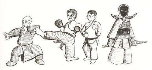Chibi Warriors by RurouniBen
