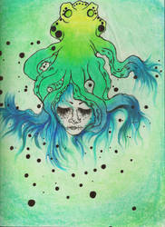 Octopus Hair (finished) by Wishfuladventurer