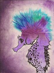 Seahorse Mohawk by Wishfuladventurer