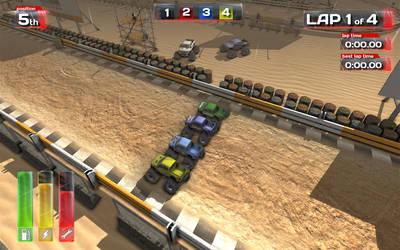 Monter truck GUI by SWETQ