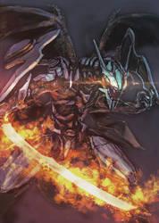 Armored dragon by yutori-custom