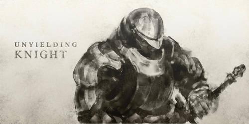 Unyielding Knight by yutori-custom