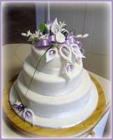 Chanel's wedding cake by EmbracerOfLife