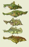 Crocs by lemurali