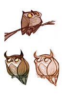 Owls by lemurali