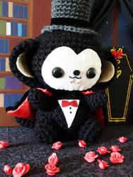 Vampire Monkey Amigurumi by cuteamigurumi