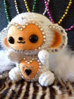 New Year's Monkey Amigurumi by cuteamigurumi