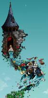 Crossed Fantasy by JDeVector