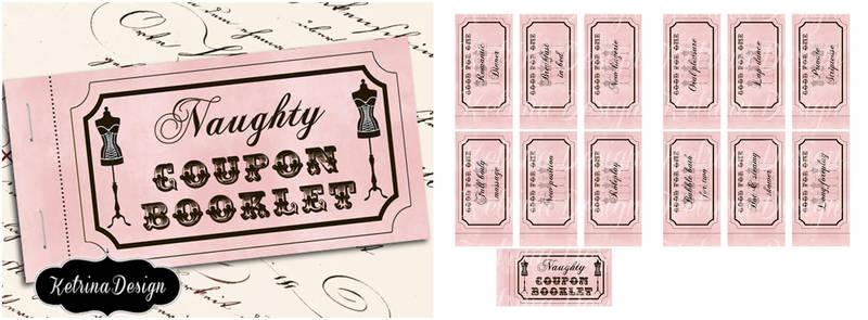 Naughty love coupons printable