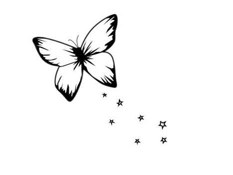 tattoo butterfly by Dephar