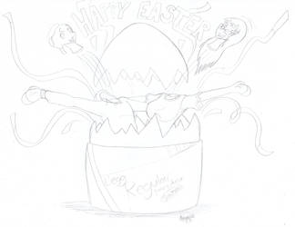 Happy Easter by Adamios by Cloth-King