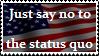 Just say no.. America by AtheosEmanon
