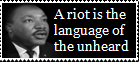 A riot is the language of the unheard by AtheosEmanon