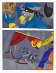 Sly Cooper Rabid Comic - 2-10 by notveryathletic