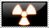 Radioactive stamp by Kradion