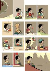 Pilgrim Comic by miguelrobledo