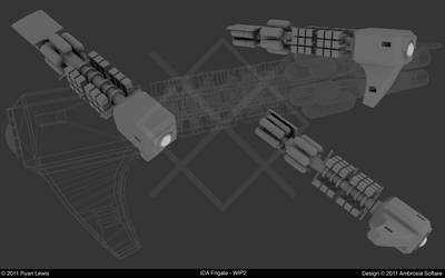IDA Frigate - WIP2 by GungnirInd