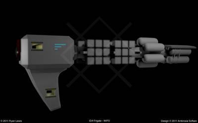 IDA Frigate - WIP3 by GungnirInd