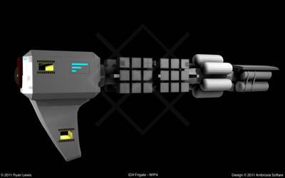 IDA Frigate - WIP4 by GungnirInd